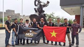 Người Việt và hành trình lái Harley-Davidson trên đất Mỹ