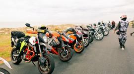 Gần 100 xe môtô PKL hành trình đến Phan Thiết