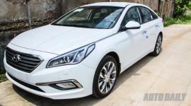 Cận cảnh Hyundai Sonata 2015 giá 1,06 tỷ đồng vừa về Việt Nam
