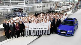 Audi kỷ niệm sinh nhật lần thứ 20 của A4
