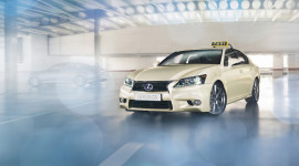 GS 300h: mẫu taxi hybrid đầu tiên của Lexus