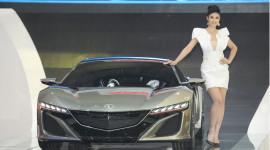 """Siêu xe """"xanh"""" NSX của Honda tại VMS 2014"""