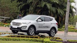 Hyundai Thành Công tổ chức lái thử SantaFe 2015 tại Hà Nội