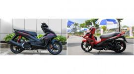 """Ra phiên bản mới, Honda Air Blade tiếp tục """"đè"""" Yamaha Nouvo"""
