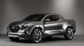 Hyundai gây bất ngờ với mẫu xe Santa Cruz Crossover Truck