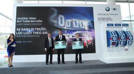 3 khách hàng mua xe BMW và MINI trúng giải 430 triệu đồng