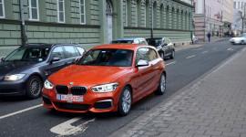 BMW M135i lần đầu xuất hiện trên phố