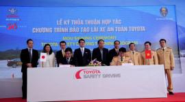 Toyota Việt Nam triển khai chương trình đào tạo lái xe an toàn
