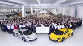 McLaren cán mốc 5000 xe theo mô hình sản xuất Super Series