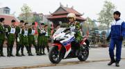 Honda đào tạo kỹ năng lái xe cho học viên Học viện Cảnh sát Nhân dân