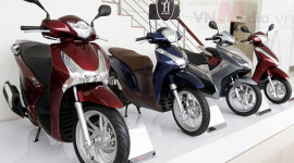 Thị trường xe máy Việt Nam 2015 sẽ đi ngang