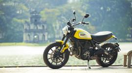 Cùng Ducati Scrambler Icon khám phá vẻ đẹp Hà Nội