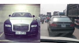 "Rolls-Royce Wraith hay Mercedes E400 mang biển ""siêu khủng"" giả?"