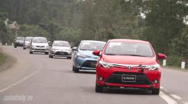 Mỗi tháng, Toyota bán được 1.000 xe Vios tại Việt Nam