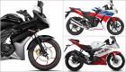 Chọn Honda CBR150R, Yamaha R15 hay Suzuki Gixxer SF?