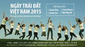 Bridgestone tham gia Ngày trái đất Việt Nam 2015