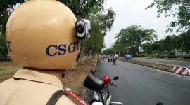 Camera trên mũ CSGT đối phó người vi phạm ở Sài Gòn