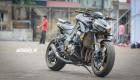 Chiêm ngưỡng Kawasaki Z1000 vàng đen tuyệt đẹp