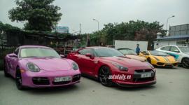 Dàn siêu xe khủng Sài Gòn đổ bộ ra Hà Nội