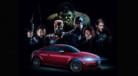 """Audi đồng hành cùng bom tấn """"Avengers 2"""""""