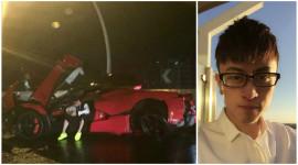 """""""Truy"""" tung tích thiếu gia phá nát siêu xe LaFerrari tại Thượng Hải"""