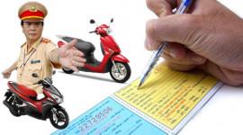 Không mang bảo hiểm xe máy bị phạt bao nhiêu?