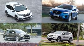 Nên mua SUV 5 chỗ nào với tầm tiền 1 tỷ đồng?