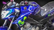 Yamaha FZ150i thế hệ thứ ba lộ diện hoàn toàn