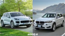 Porsche Cayenne vs. BMW X5: Cuộc chiến của người Đức