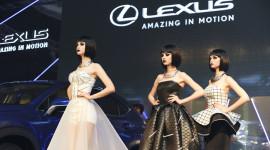 """Dàn mẫu """"ma-nơ-canh"""" gây ấn tượng trong ngày Lexus NX200t trình làng"""
