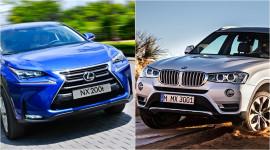 Lexus NX200t vs. BMW X3: Cuộc chiến Nhật - Đức