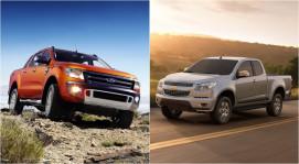 Chọn xe bán tải Ford Ranger hay Chevrolet Colorado?