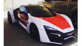 Siêu phẩm Lykan HyperSport  thành xe cảnh sát
