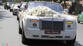 Ai tổ chức đám cưới toàn xe sang ở Nghệ An?