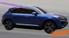 Xe Trung Quốc nhái trắng trợn Porsche Macan