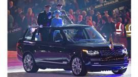 Range Rover mui trần cực độc dành riêng cho Nữ hoàng Anh