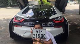 """Xế khủng BMW i8 nhà Minh """"nhựa"""" đã có biển"""
