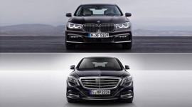 Đọ đẳng cấp của BMW 7-Series 2016 và Mercedes S-Class 2015