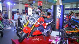 Xe điện giá 25 triệu nhái y đúc Honda MSX ở Hà Nội
