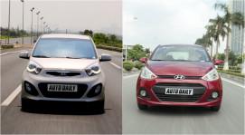 """KIA Morning và Hyundai Grand i10: So tài """"xế"""" nhỏ"""