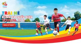 Toyota khởi động Trại hè bóng đá thiếu niên 2015