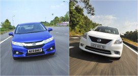 Chọn Honda City hay Nissan Sunny?