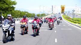 """Chùm ảnh: Hàng trăm môtô """"khủng"""" có mặt tại thành phố Đà Nẵng"""
