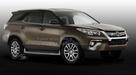 Chốt ngày ra mắt Toyota Fortuner 2016