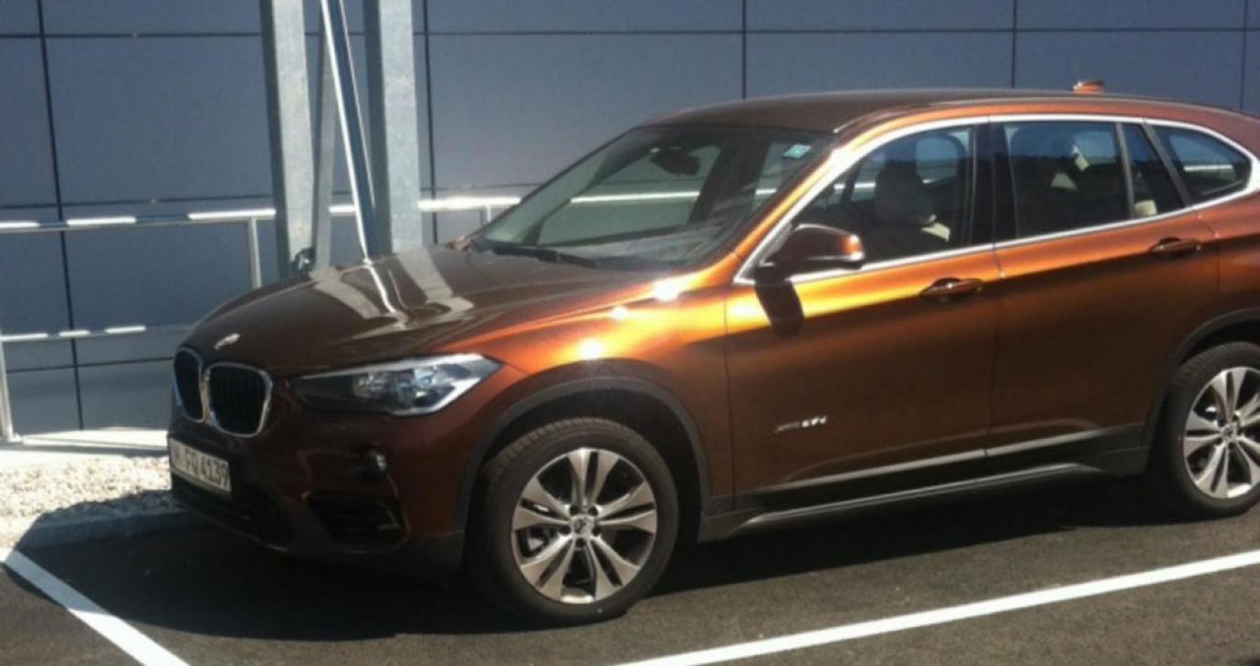 """BMW X1 2016 """"bằng xương, bằng thịt"""" lần đầu lộ diện"""