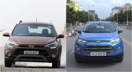Hyundai i20 Active vs Ford EcoSport: Cuộc đấu mới trong làng xe Việt