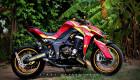 """Soi chi tiết Kawasaki Z1000 phiên bản """"Iron Man"""" tại Sài Gòn"""