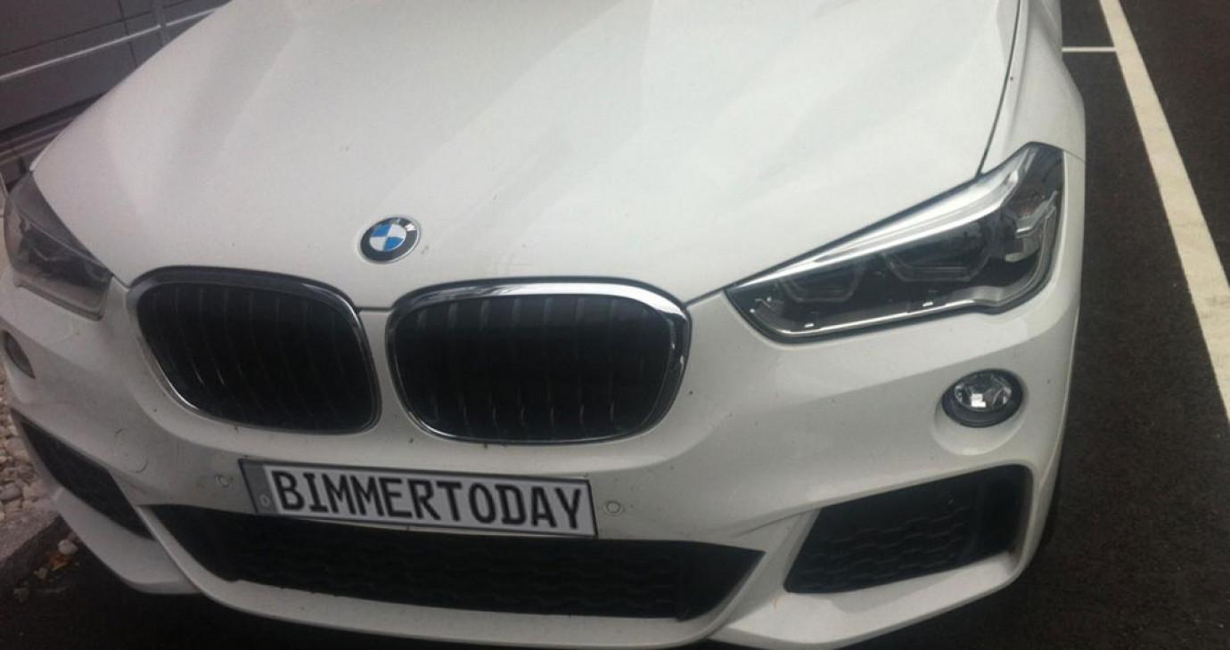 """BMW X1 2016 với gói M Sport lộ diện """"bằng xương, bằng thịt"""""""