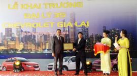 GM Việt Nam khai trương đại lý Chevrolet 3S tại Gia Lai