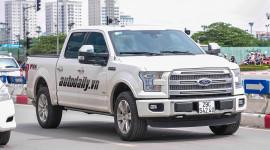 """""""Siêu bán tải"""" Ford F-150 2015 đầu tiên lăn bánh tại Hà Nội"""